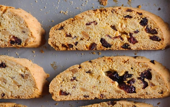 Recipe: Cherry-Pistachio Biscotti